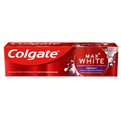 Zubná pasta colgate max white protect whitening