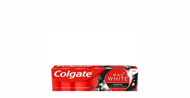 Zubná pasta Colgate Max White Charcoal Whitening