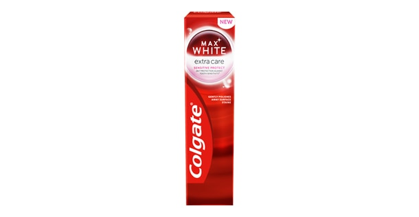 Zubná pasta Colgate Max White Extra Care Sensitive Protect